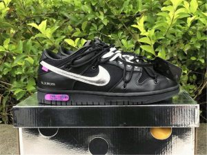 Off-White x Nike Dunk Low The 50 Black