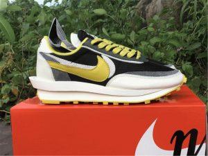 Undercover Sacai Nike LDWaffle Bright Citron