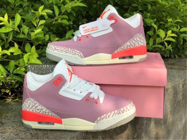 Wmns Air Jordan 3 Rust Pink for women