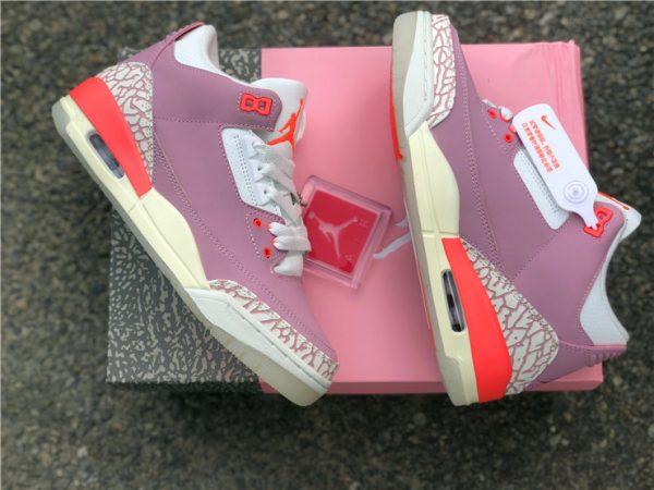 Wmns Air Jordan 3 Rust Pink paning