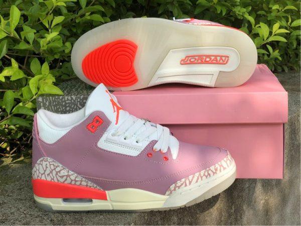 Wmns Air Jordan 3 Rust Pink underfoot