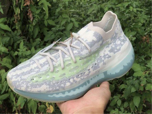 adidas Yeezy Boost 380 Alien Blue Reflective on hand