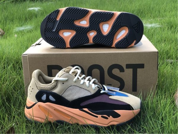 adidas Yeezy Boost 700 Enflame Amber GW0297 underfoot