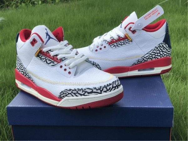 where to buy Air Jordan 3 Cement Navy Red White