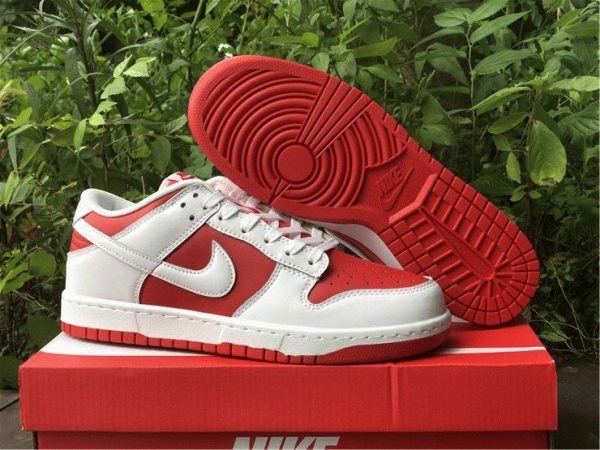 where to by Nike Dunk Low White University Red