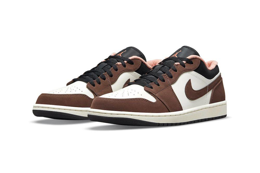 Air Jordan 1 Low Mocha Brown sneaker