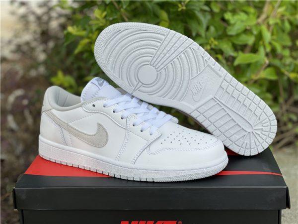 Air Jordan 1 Low OG Neutral Grey 2021 shoes