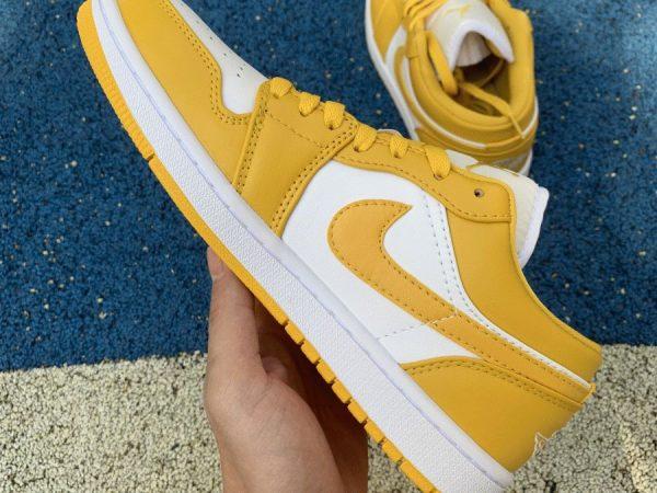 2021 Air Jordan 1 Low Pollen Yellow