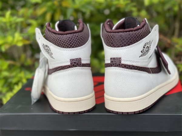 A Ma Maniere x Air Jordan 1 High OG back heel
