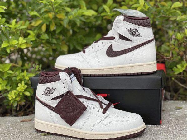 A Ma Maniere x Air Jordan 1 High OG sneaker 2021