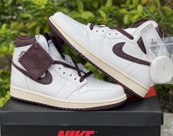 A Ma Maniere x Air Jordan 1 High OG sneaker