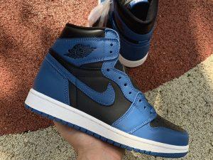 Air Jordan 1 High OG Dark Marina Blue on hand