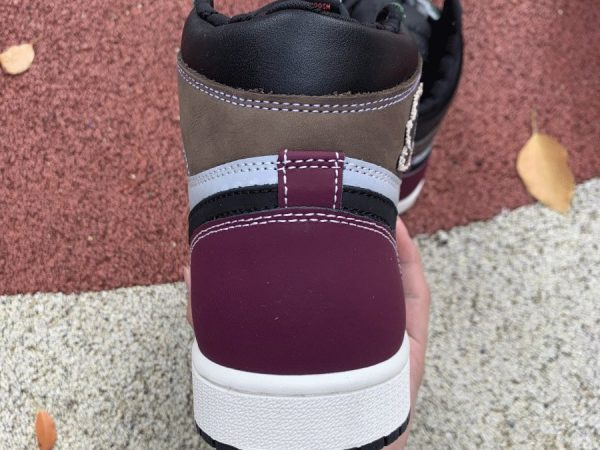 Air Jordan 1 High OG Hand Crafted heel
