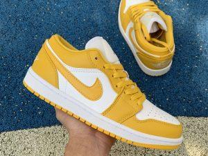 Air Jordan 1 Low Pollen Yellow