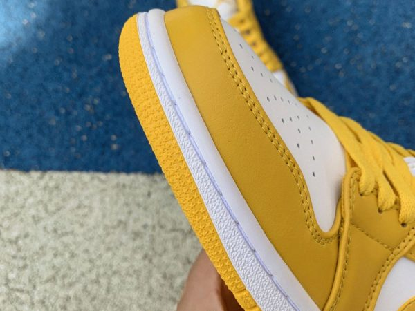 Air Jordan 1 Low Pollen Yellow mudguard