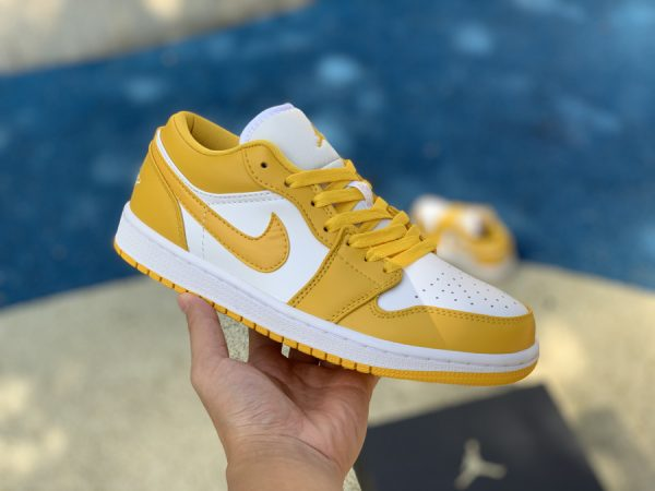 Air Jordan 1 Low Pollen Yellow on hand