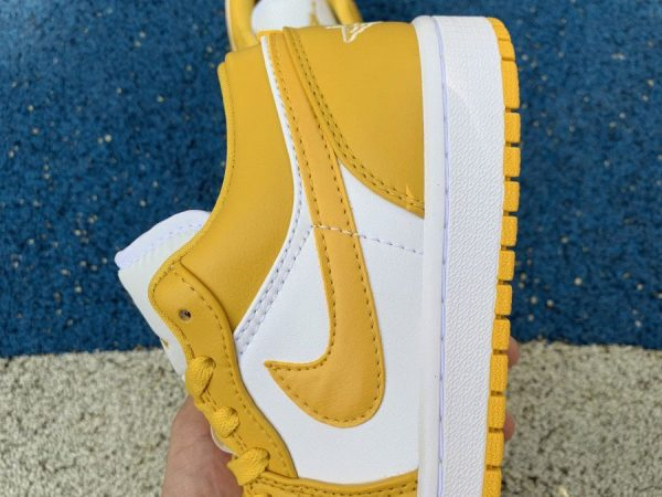 Air Jordan 1 Low Pollen Yellow shoes