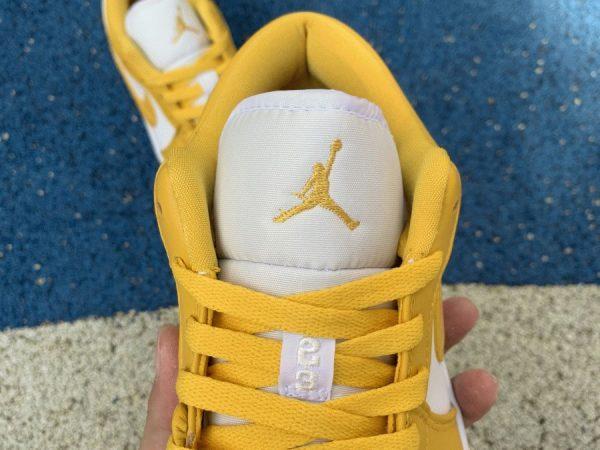 Air Jordan 1 Low Pollen Yellow tongue