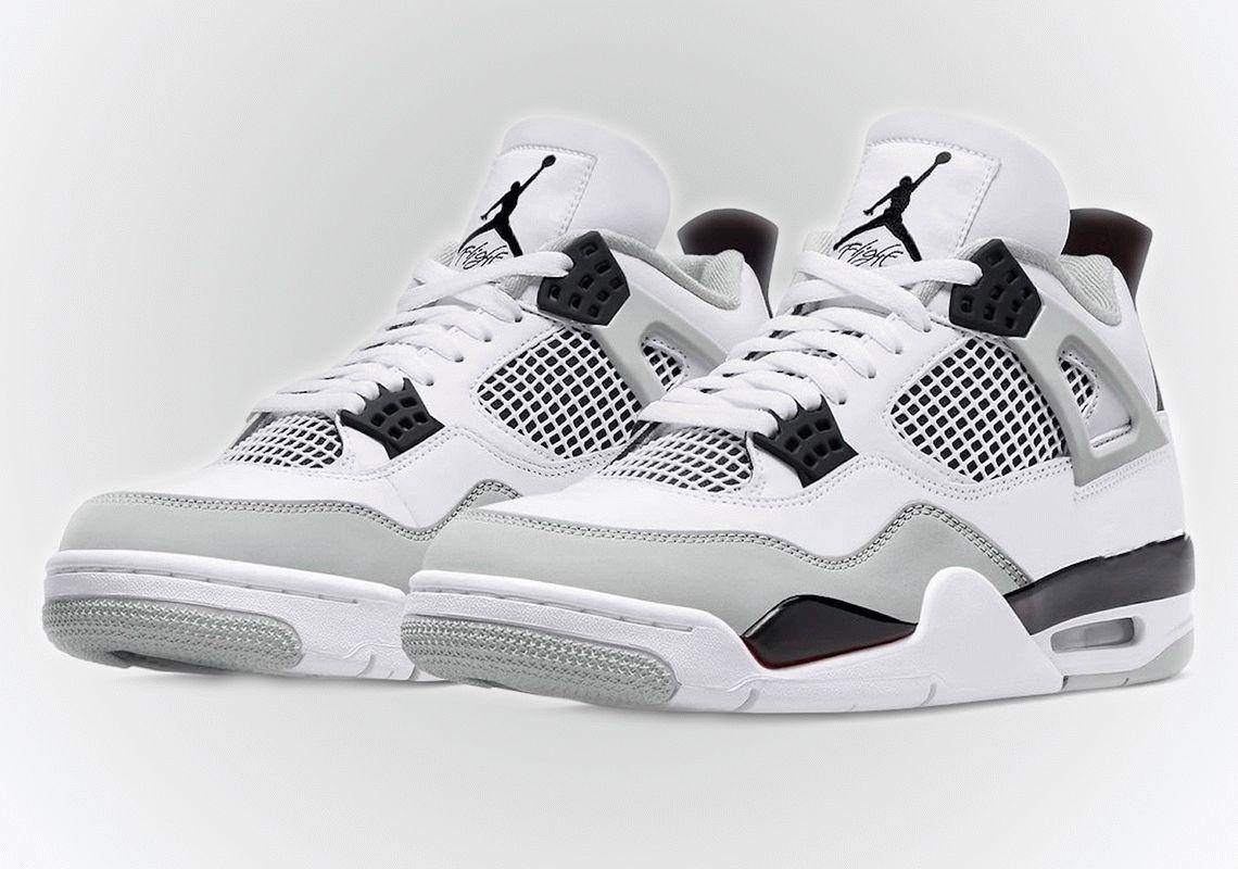Air Jordan 4 Military Black shoes
