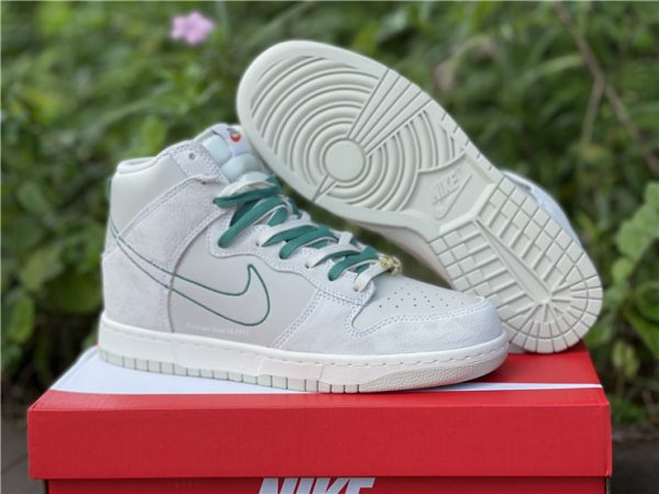 Dunk High SE First Use PackGreen Noise for sale