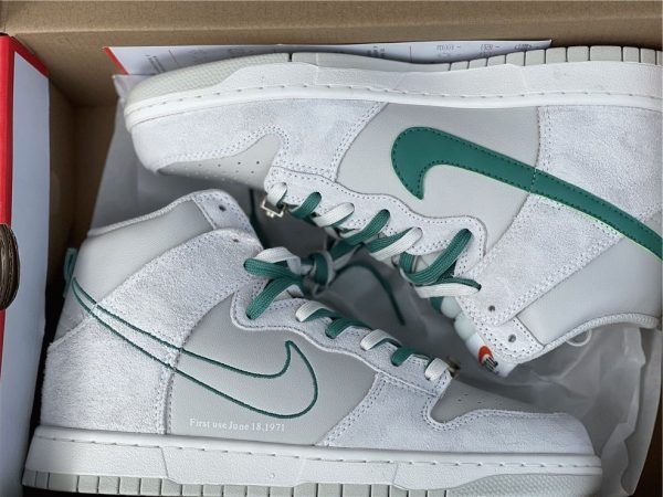 Dunk High SE First Use PackGreen Noise real photo look
