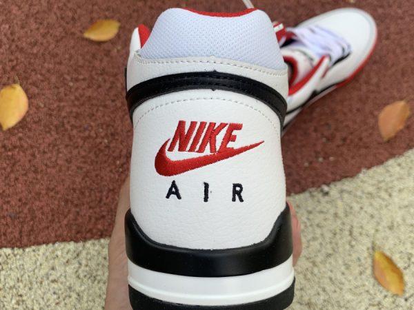 Flight Legacy White Red BQ4212 100 heel