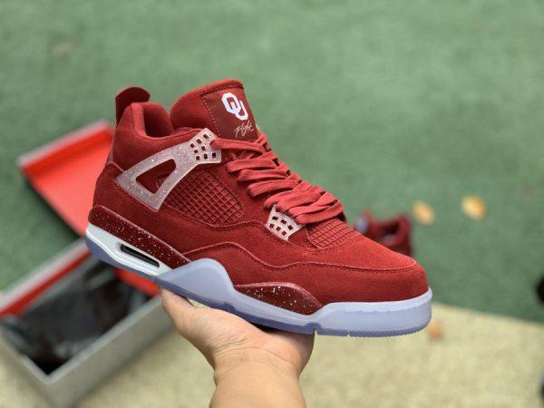 Jordan 4 Retro Oklahoma Sooners PE