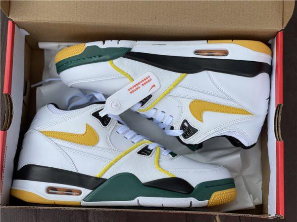 Nike Air Flight 89 Seattle Supersonics in box