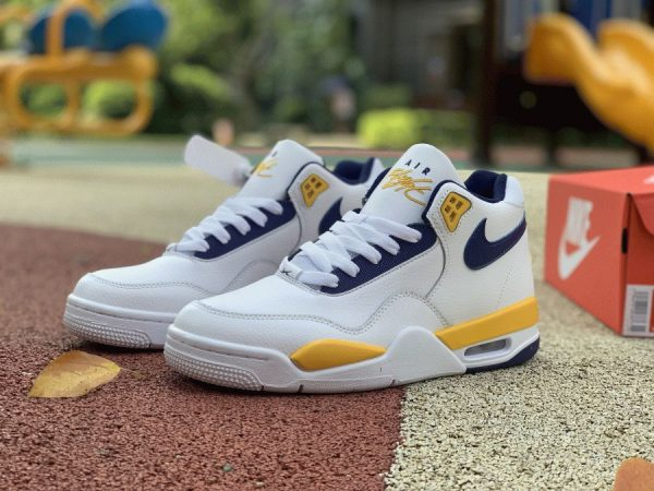 Nike Air Flight Legacy Lakers Home Shoes