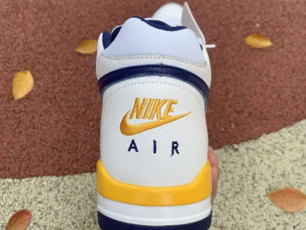 Nike Air Flight Legacy Lakers Home back heel