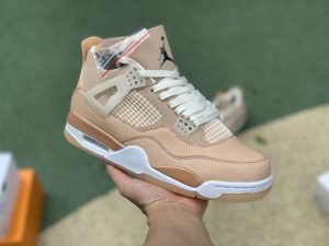 Nike Air Jordan 4 Retro Shimmer Bronze Eclipse