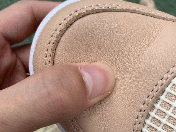 Nike Air Jordan 4 Retro Shimmer Bronze Eclipse close look