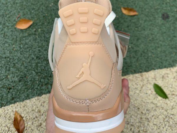 Nike Air Jordan 4 Retro Shimmer Bronze Eclipse heel