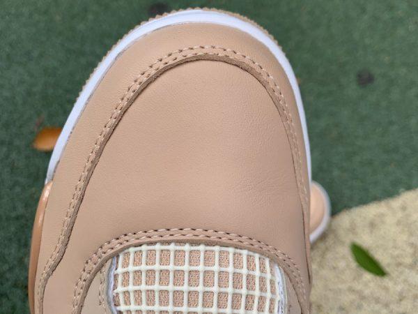 Nike Air Jordan 4 Retro Shimmer Bronze Eclipse vamp