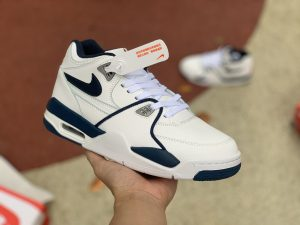 Nike Flight 89 White Navy Blue