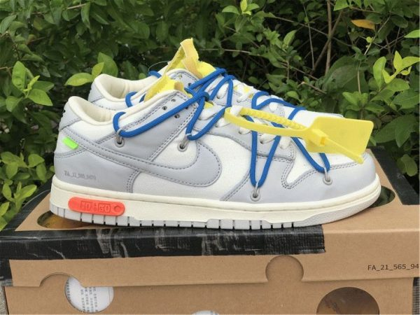 Off-White x Nike Dunk Low The 10 of 50