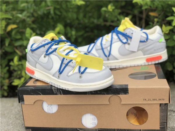 Off-White x Nike Dunk Low The 10 of 50 shoes