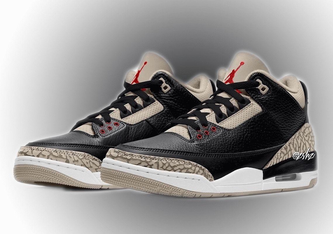 Air Jordan 3 Desert Elephant shoes
