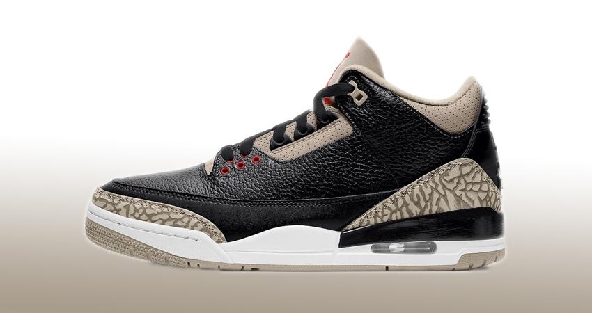 Air Jordan 3 Desert black cement