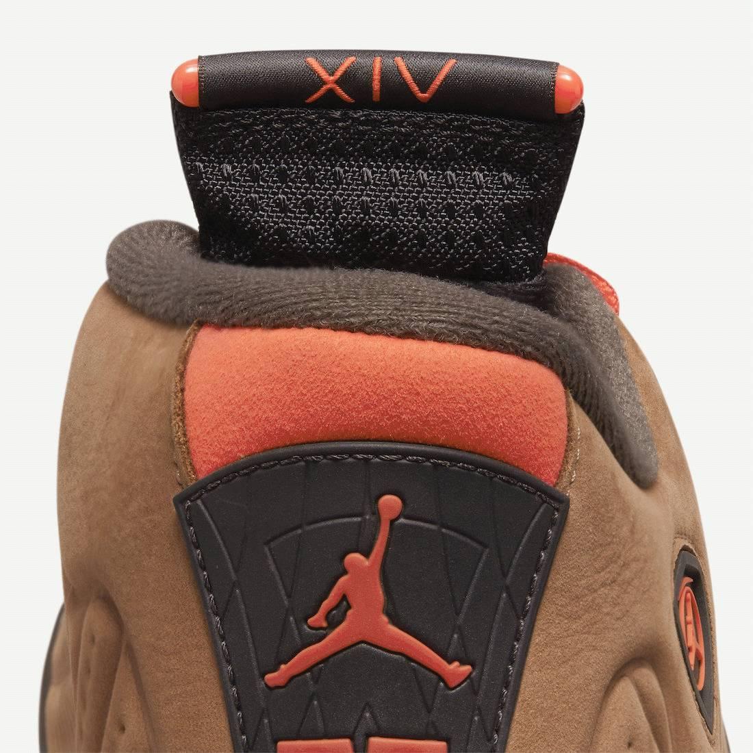 Winterized Air Jordan 14 sneaker